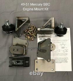 1949 1950 1951 Mercury SB Chevy Motor Engine Mount Adapter Kit