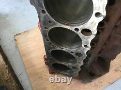 1966 327 Engine Block 3791362 ZI Suffix TURBO FIRE Chevy II Nova Date L 9 5