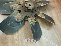 1973 1974 1975 Chevy Monte Carlo Chevelle 454 Bbc Big Block Clutch Fan Blade Gm
