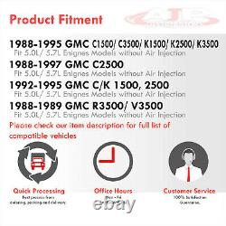 2pc Stainless 4-1 Exhaust Header Manifold For 1988-1997 C/K Truck SBC 5.0/5.7 V8
