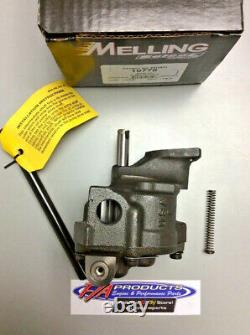 Big Block Chevy 396 454 502 Engines High Volume Oil Pump Melling M Select 10778