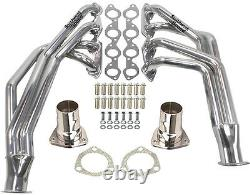 Big Block Chevy Chassis Headers, 55-57 Chevy, 396-502ci, Ceramic Coated, Engine Swap