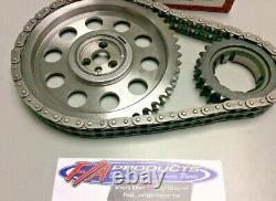 Big Block Chevy Gen VI 1996 2000 Engines Billet Timing Set S. A. GEAR 78537T-9