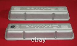 CADILLAC PML VALVE COVERS 11107 Cast Aluminum 1959-86 Small Block Chevy Engines
