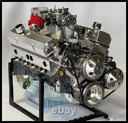 CHEVY TURN KEY SBC 377 STAGE 2.3 DART BLOCK, CRATE MOTOR 530 hp
