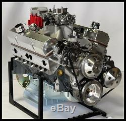 CHEVY TURN KEY SBC 427 STAGE 5.2 DART BLOCK, AFR HEADS, CRATE MOTOR 628 hp