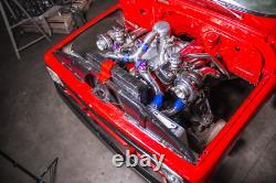 CXRacing Big Block BBC Engine TH400 Trans Mount Kit For 63-66 Chevy C10 Truck