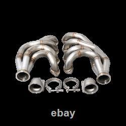 CXRacing Turbo Manifold Header Kit For 67-69 Camaro Big Block Chevy BBC Engine