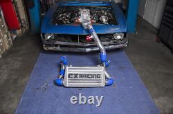 CXRacing Twin Turbo Manifold Intercooler For 67-69 Camaro BBC Big Block Engine