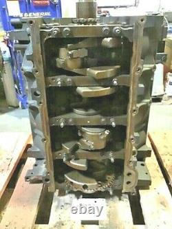 Chevrolet 6.0 Gen IV 4 Short Block Engine Core 2007-2019 Cast Iron 12578181
