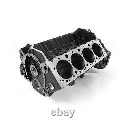 Chevy SBC 350 B-4.125 M-350 DH-9.025 4-Bolt Billet Main Iron Engine Block