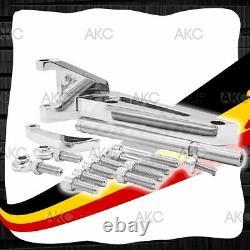 Chrome Aluminum Alternator Bracket For Chevy Bb 396 402 427 454 502 Swp Engines