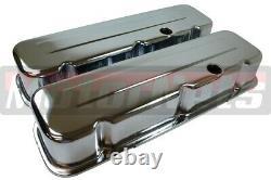 Chrome BBC Big Block Chevy Engine Dress Up Kit Air Cleaner Short 396 427 454 502