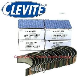 Clevite H Series. 010 Under Rod Bearings Large Journal sb Chevy & GM LS Engines