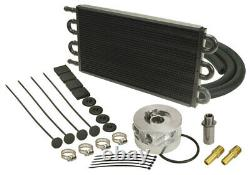 DERALE Chevy Small Block/Big Block Engine Oil Cooler P/N 15503