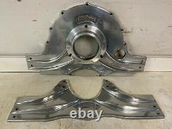 Edelbrock Marine V-drive Boat Early Style Chevy Front & Rear Engine Motor Mounts