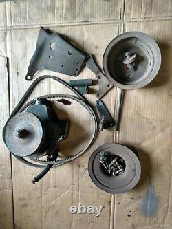 Engine Bracket Pulleys Chevy V8 Small Block Sbc 5.0 5.7 Alternator Power Steerin