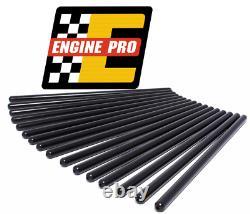 Engine Pro 7.200 1010 Hardened Pushrods Set Chevrolet with OEM Roller Camshaft