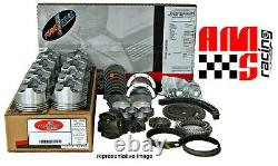 Engine Rebuild Kit with Flat Top Pistons for 1967-1985 Chevrolet GMC 350 5.7L
