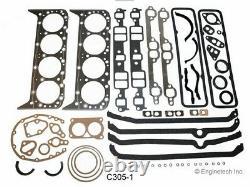Engine Remain Rering Overhaul Kit for 1976-1985 Chevrolet SBC 305 5.0L