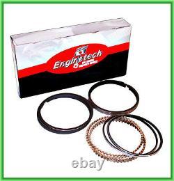 Enginetech Engine Rebuild 65-69 Big Block Chevy 396 Re-ring Kit Rings Bearings