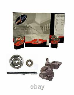Enginetech Engine Rering Kit Small Block Chevy 350 Engine Re-ring Timing Oil