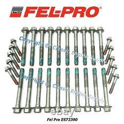 Fel Pro USA Made Head Bolts Fits Some 2004-2020 GM 6.0L 6.2L & 7.0L LS Engines