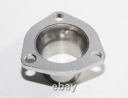 For 66-96 Chevy Small Block Hugger V8 Angle Plug Head SS Manifold Exhaust Header