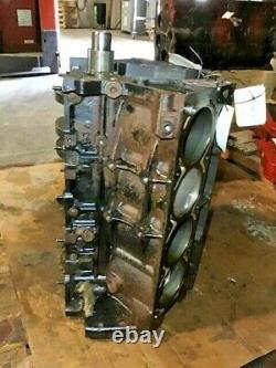 Gen 3 III 6.0 LQ4 Chevrolet Short Block Engine Core 2000-2006 Cast Iron 24 Tooth