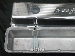Ghostie 383 Stroker Chevy Small Block Tall Valve Cover 12 oval Air Cleaner