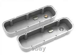 Holley 241-150 Tall M/T Valve Covers for Big Block Chevy Engines Natural Ca
