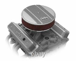 Holley 241-246 Holley Finned Valve Covers for Small Block Chevy Engines Nat