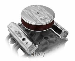 Holley 241-248 Holley Finned Valve Covers for Small Block Chevy Engines Pol
