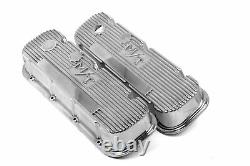 Holley 241-84 M/T Valve Covers for Big Block Chevy Engines Polished