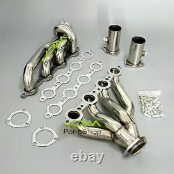 LS Swap Exhaust Headers for Chevy LS1 LS2 LS3 LS6 S10 4.8L 5.3L 5.7L 6.0L Engine