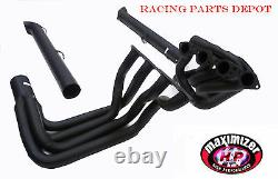 Maximizer Long Tube Header WithRes. Side Pipe For 65-74 Corvette Big Block Engine