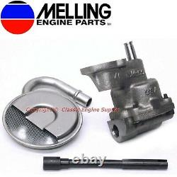 Melling HP Oil Pump Kit Some V6 & V8 sb Chevy 400 350 327 307 305 283 267 262