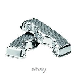 Mooneyes Aluminum Valve Covers Chevrolet Big Block 348 409 Engine MP650 Pair