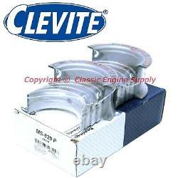 New Clevite. 001 Under Rod & Main Bearing Set 366 396 402 427 454 502 Chevy bb