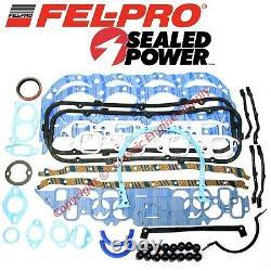 New Fel Pro Engine Overhaul Gasket Set 1980-1985 Chevy bb 454 & 1974-1985 427