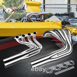 No Water Injection Transom Header Manifold For Big Block Chevy Jet Boat Engine