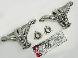 OBX Shorty Header For 92-96 Chevy Small Block Hugger 283 305 327 350 400 cu in