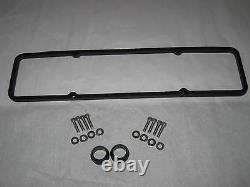 Old Ford V8 Design Fits Chevy Small Block Valve Covers 12 Oval Air Cleaner