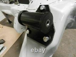 S10 S15 Blazer Chevy Motor Mount Kit Block and Poly Frame Mounts Two Wheel Drive
