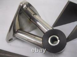 Small & Big Block Chevy Weld in Street Rod Engine Motor Mounts Kit STAINLESS