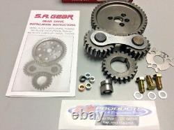Small Block Chevy 283 350 Engines Quiet Gear Drive Timing Kit S. A. GEAR 78400Q