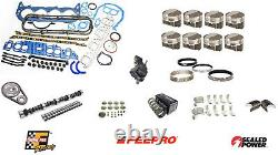Stage 2 Engine Rebuild Kit with Forged Dome Pistons for 1985-1990 Chevrolet 454