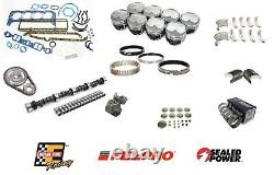 Stage 4 Engine Rebuild Kit with Dome Pistons for 1967-1980 Chevrolet SBC 350 5.7L