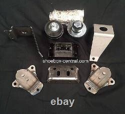 1949 1950 1951 Ford Sb Chevy Engine Motor Mount Conversion Adapter Kit