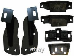 1949-51 Ford Passenger Car Engine Conversion Mounts Small Block Ford
